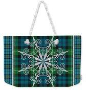 Plaid Snowflakes-jp3704 Weekender Tote Bag