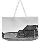 Plains Homestead Bw Weekender Tote Bag