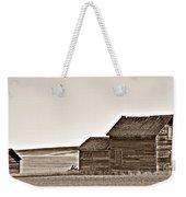 Plains Homestead Sepia Weekender Tote Bag