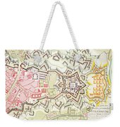 Plan Of Part Of The City And Citadel Of Strasbourg Weekender Tote Bag