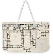 Plan Of Principal Floor Of Hampton Weekender Tote Bag