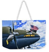 Plane - Curtiss C-46 Commando Weekender Tote Bag