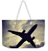Plane Landing In London Weekender Tote Bag