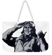 Plane Production Give Us More Weekender Tote Bag by War Is Hell Store