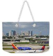 Planes By Fort Lauderdale Weekender Tote Bag