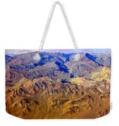 Planet Art Death Valley Mountain Aerial Weekender Tote Bag
