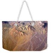 Planet Art Number Three Weekender Tote Bag