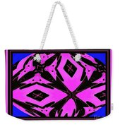 Planet Of The Aliens Abstract Weekender Tote Bag