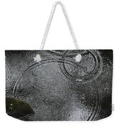 Planetary Intersection In A Puddle Weekender Tote Bag