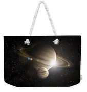 Planetary Ring Weekender Tote Bag