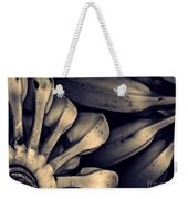 Plantains 1  Sepia Weekender Tote Bag