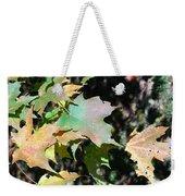 Planting Fields / Leaves Weekender Tote Bag
