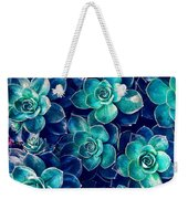 Plants Of Blue And Green Weekender Tote Bag
