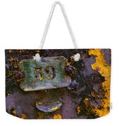 Plate 59 Weekender Tote Bag by Carlos Caetano