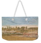 Plate IIi The Engagement At The North Bridge In Concord 1775 Weekender Tote Bag