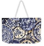 Plates Party 1 Weekender Tote Bag