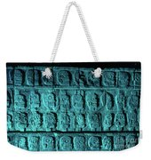 Platform Of Skulls At Night Weekender Tote Bag