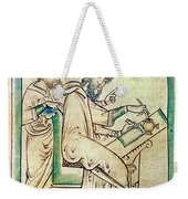 Plato With Socrates Weekender Tote Bag