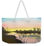 Platte River Sunrise Weekender Tote Bag