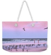 Play At The Beach Weekender Tote Bag