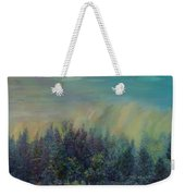 Playful Colorful Morning Weekender Tote Bag