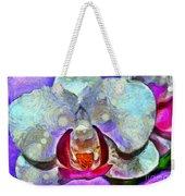 Playful Orchid Weekender Tote Bag