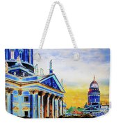 Playhouse And French Dome Weekender Tote Bag