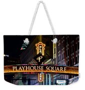 Playhouse Square Up Close Weekender Tote Bag