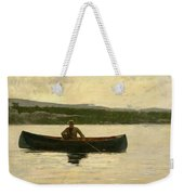 Playing A Fish Weekender Tote Bag by Winslow Homer