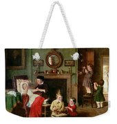 Playing At Doctors Weekender Tote Bag