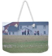 Playing Ball With Friends Weekender Tote Bag