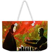 Playing Chess With Death Weekender Tote Bag