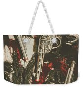 Playing Cowboys And Indians Weekender Tote Bag