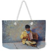 Playing For Pesos Weekender Tote Bag