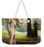 Playing For Time Weekender Tote Bag