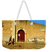 Playing In Taormina Weekender Tote Bag