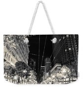 Playing In Traffic Blackout Weekender Tote Bag