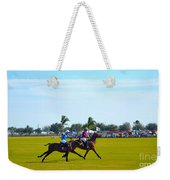 Playing Polo Weekender Tote Bag