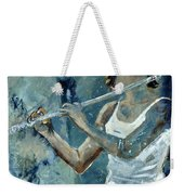 Playing The Flute Weekender Tote Bag