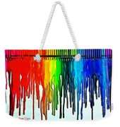 Playing With Colors Weekender Tote Bag