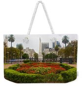 Plaza De Mayo In Buenos Aires-argentina  Weekender Tote Bag