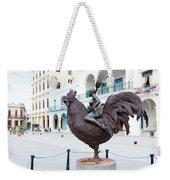 Nude On Rooster Weekender Tote Bag