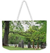 Pleasant Forest Cemetery Weekender Tote Bag
