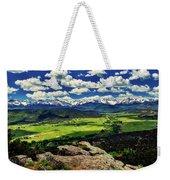 Pleasant Valley Colorado Weekender Tote Bag