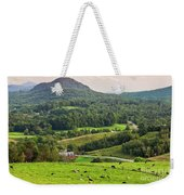 Pleasant Valley Countryside Weekender Tote Bag