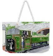 Please May I Drive? - Llangollen Steam Railway, North Wales Weekender Tote Bag