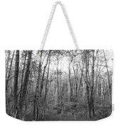 Pleasure Of Pathless Woods Bw Weekender Tote Bag
