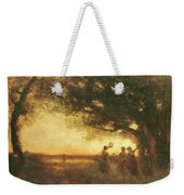 Pleasures Of The Evening Weekender Tote Bag