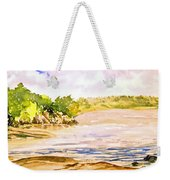 Plein Air At Pine Falls Manitoba Weekender Tote Bag