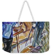 Plein Air Painters - Original Watercolor Weekender Tote Bag